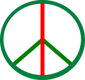 Peace Be With U Clip Art
