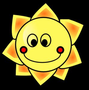 smiling sun clip art at clker com vector clip art online royalty rh clker com
