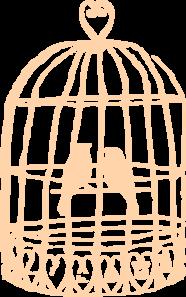 birdcage clip art at clker com vector clip art online royalty rh clker com wedding birdcage clipart