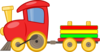 Cartoon Train Clip Art
