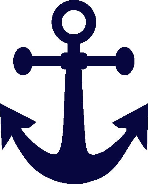 Anchor Navy Blue Clip Art at Clker.com - vector clip art ...