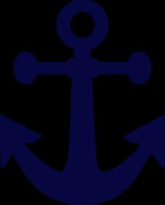 anchor navy blue clip art at clker com vector clip art online rh clker com navy anchor logo png navy anchor logo black