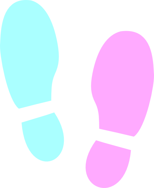 Shoe Print Clip Art at Clker.com - vector clip art online, royalty ...