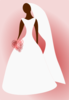 Bride In White Dress Clip Art