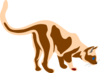 Sniffing Cat Clip Art