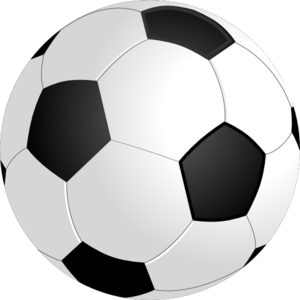 Soccer No Shadow Clip Art