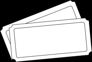Ticket Template Clip Art at Clker.com - vector clip art online ...
