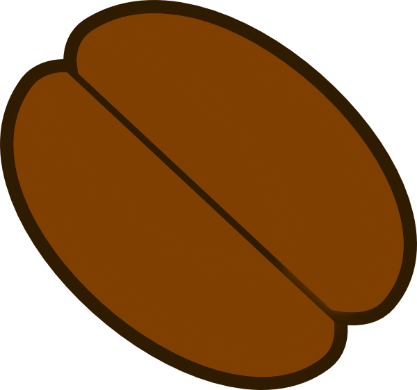 coffee bean clip art at clker com vector clip art online royalty rh clker com coffee bean clip art free coffee bean clipart free
