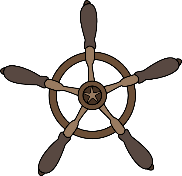 clipart ship steering wheel - photo #10