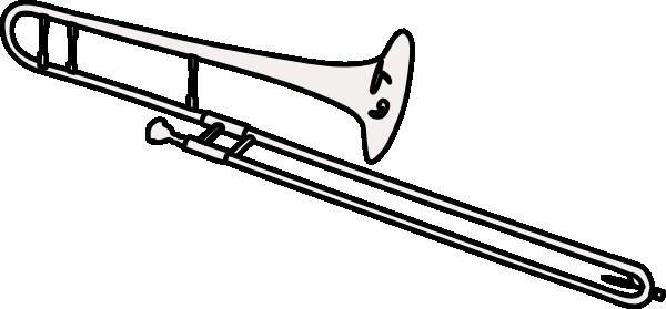 Trombone(2) Clip Art at Clker.com - vector clip art online ...  Trombone(2) Cli...