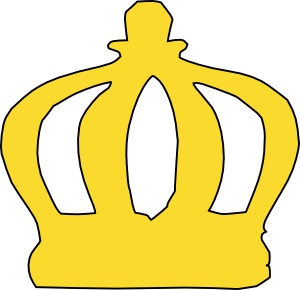 cartoon crown clip art at clker com vector clip art online rh clker com crown clipart transparent crown clipart transparent