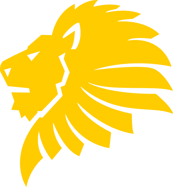 Gold Lion Head Clip Art at Clker.com - vector clip art ...