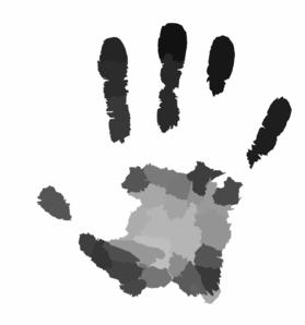 Handprint Clip Art