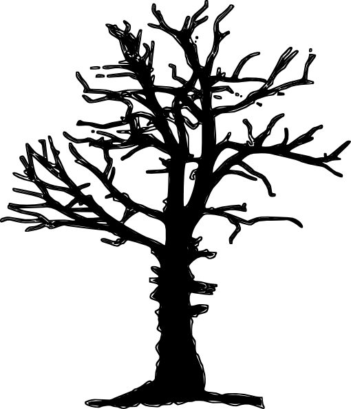 clip art dying tree - photo #28