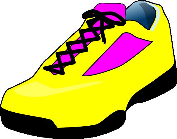 Yellow Shoe Clip Art at Clker.com - vector clip art online ...