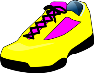 Yellow Shoes Clip Art