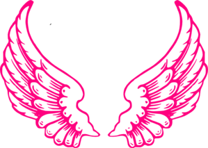 Pink Angel Wings Clip Art
