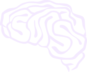 Brain Light Purple Clip Art