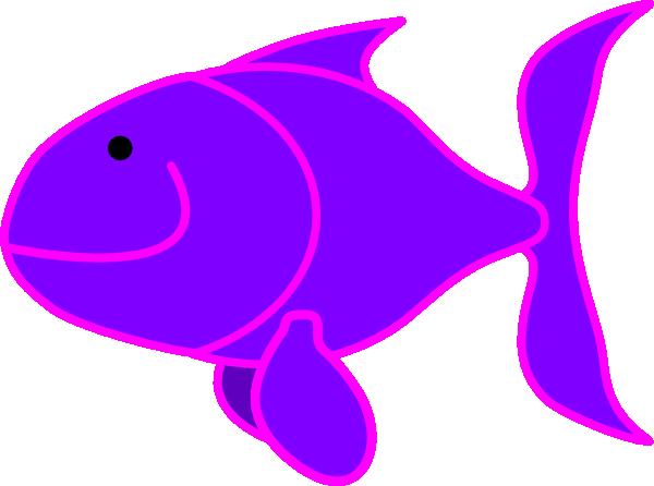 Purple Fish Clip Art at Clker.com - vector clip art online ...