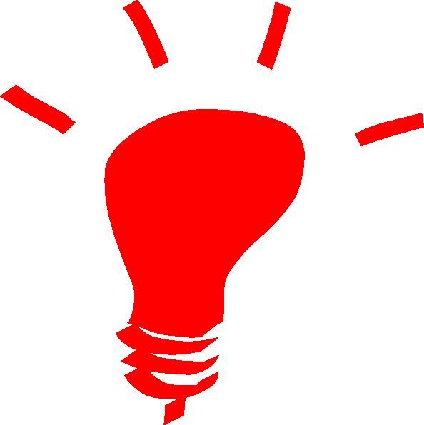Red Alert Bulb Clip Art at Clker.com - vector clip art ...