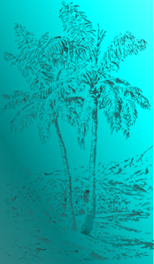 Palm Tree Background Clip Art