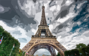 Eiffel Tower X Clip Art