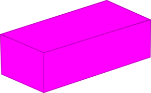 Hot Pink Lego Base Clip Art