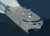 High Speed Vessel Two (hsv-2) Navigates The Waters Off The Coast Of Southern Iraq Clip Art