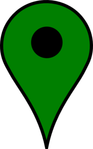 Map Pin Green Clip Art
