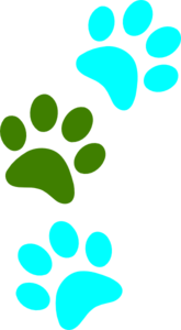 Paws Walking Clip Art