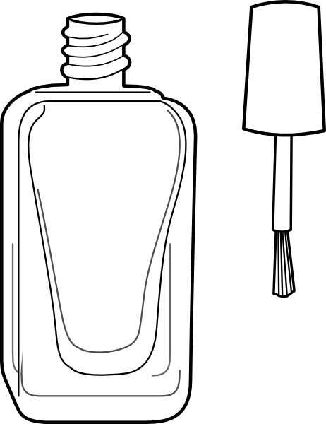 nail manicure coloring pages - photo #50