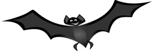 Flying Bat Clip Art