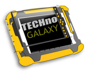 Techno Galaxy Band Logo Clip Art