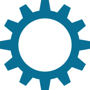High Resolution Gear Blue Clip Art at Clker.com - vector ...