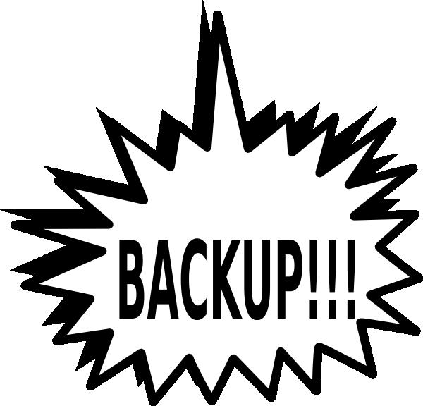 Backup Clip Art At Clker Com Vector Clip Art Online