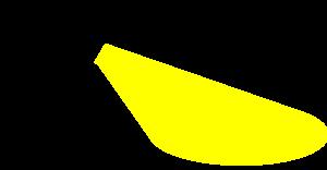 Miner With Flashlight Clip Art