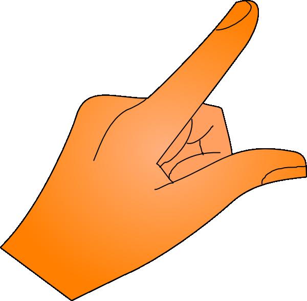 Pointing Finger Clip Art at Clker.com - vector clip art ...