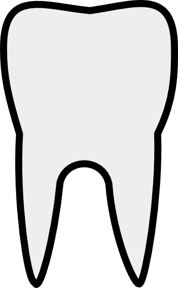 clipart picture of a tooth - photo #12