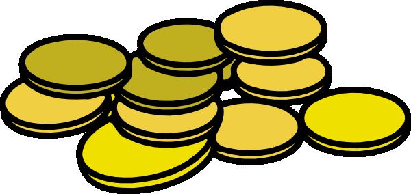 gold coins clip art at clker com vector clip art online royalty rh clker com coin cliparts for children chips clip art free