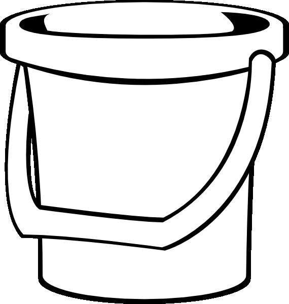 Clipart White Bucket 1 1 on Bucket Filler