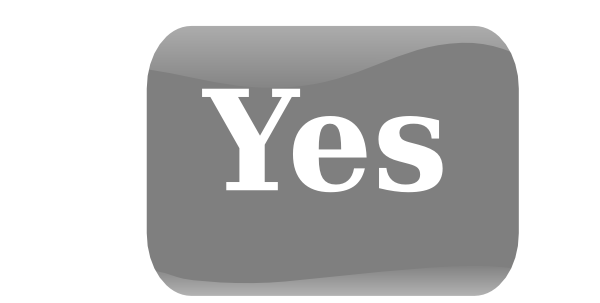 clip art of yes - photo #24