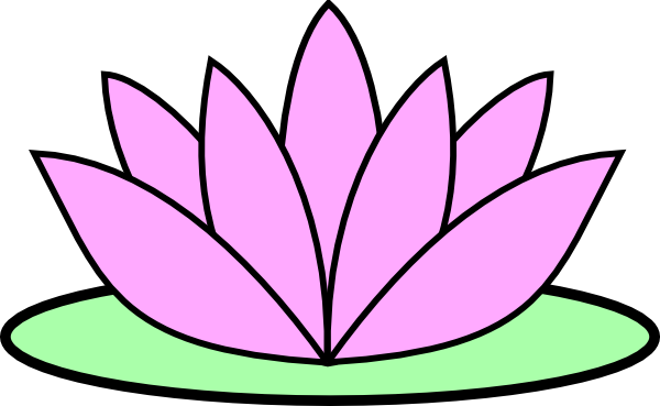 pink lotus flower clip art at clker com vector clip art online rh clker com lotus flower free clipart lotus flower clip art free
