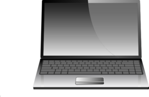 Computer Laptop Or Notebook Clip Art