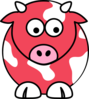 Watermelon Cow Clip Art