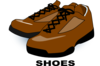 Brown Shoes Clip Art