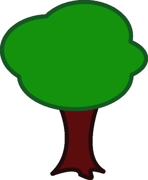 Empty Apple Tree Clip Art at Clker.com - vector clip art ...