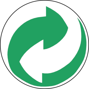 Recycling Symbol Green Clip Art