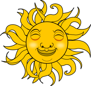 smiling sun clip art at clker com vector clip art online royalty rh clker com free clip art smiling sunshine free clip art happy sun