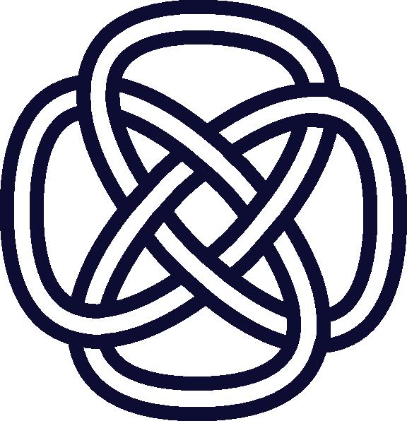 Celtic Knot Navy Clip Art at Clker.com - vector clip art ...
