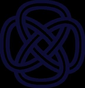 celtic knot navy clip art at clker com vector clip art online rh clker com celtic knot clipart images celtic knot clipart free